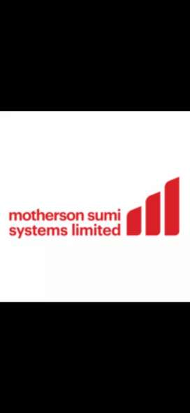 Requirement for fresher candidates in Motherson company