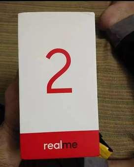 Realme 2 diamond black 3gb ram 32gb internal