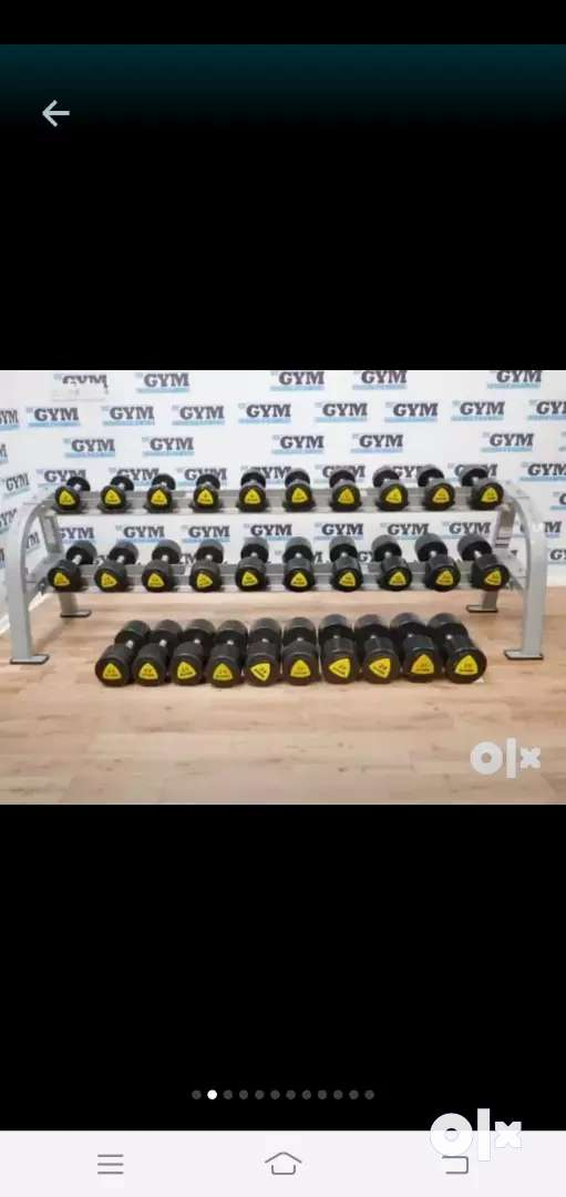 Gym manufacturing of dumbell plates rod in delhi dumbbell 0