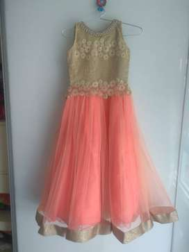 Exclusive designer wear party gown for Girl with age of 8 to 10 year