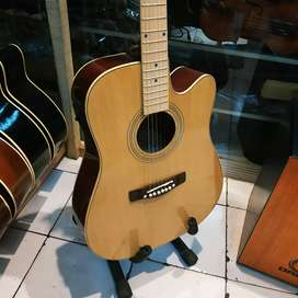 Gitar ibanez akustik elektrik fretboar maple
