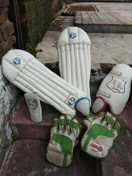 Cricket wicket keeping kit