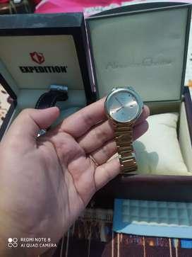 Dijual santai jam cowok expedition dengan jam cewek alexander christie