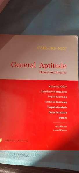 General aptitude for CSIR-JRf-NET