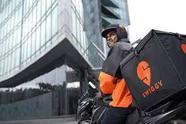 Urgent required delivery boys for swiggy