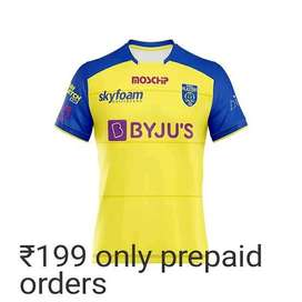 Kerala blaster Jersey Customised with Your name On back