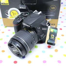 Nikon d3400 Lensa kit fullset