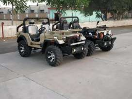 Modified open Jeep Gypsy Thar