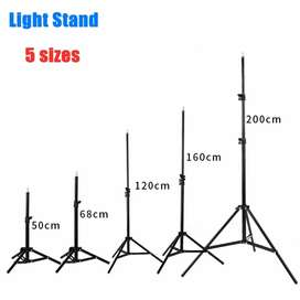8 Feet Height Metal Body Tripod Stand For RING Light