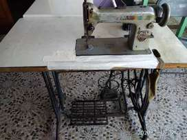 Tailoring machine with motte