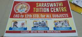Home and tuition classes also taken here for all classes .