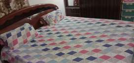 Room with double bed , tv , dressing table, 1 bathroom,(meals included