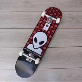 Skateboard fullset mozaik red series