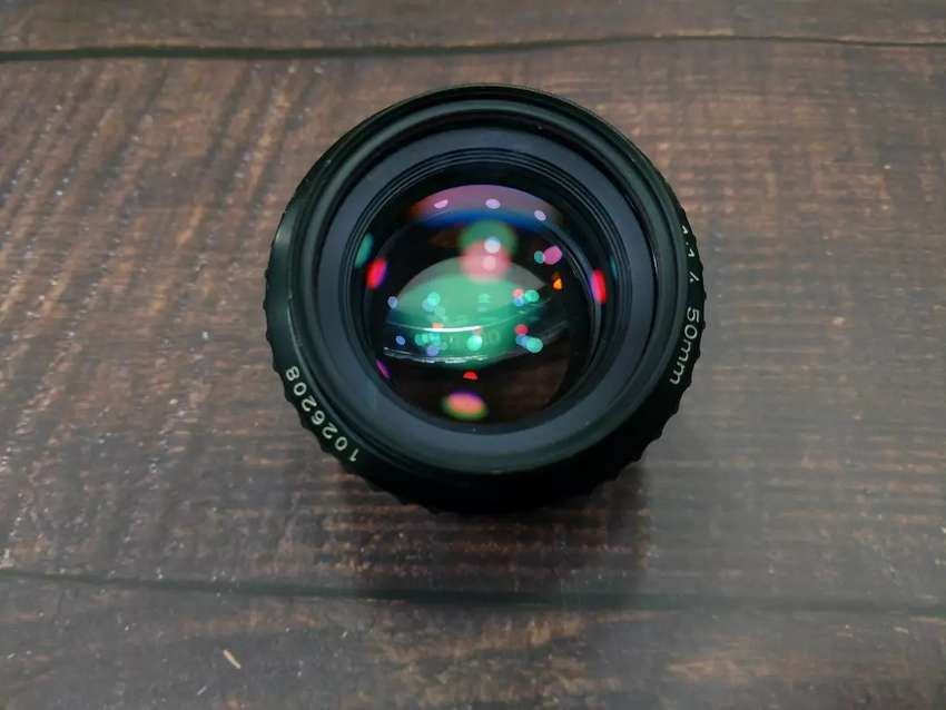 Pentax 50mm 1.4 10/10 for cano and sony 0