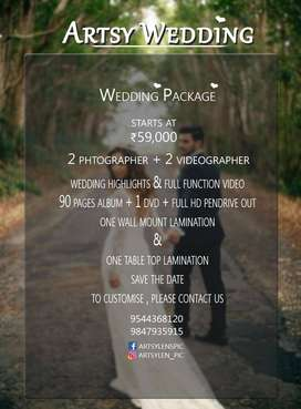 Wedding Photography @just Rs 59,000/-