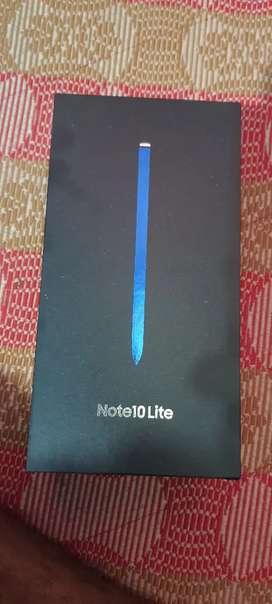Samsung note 10 lite 2 months old