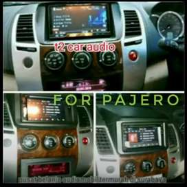 For PAJERO dvd 2din android link 7inc+camera hd+pasang mumer om