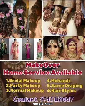 MakeOver Home Service Available