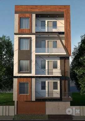 2Bhk Builder Floor In Deep Vihar Rohini Sector - 24