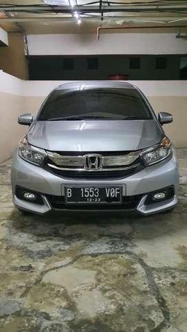 Honda Mobilio Type E 1.5 MT 2018, Abu2 Metalik, Full Ori, Service Rec!