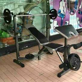 mataram sport bench press full id fitness