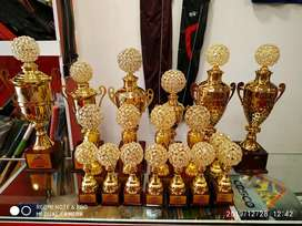 Trophies,medals, shields,  momentos