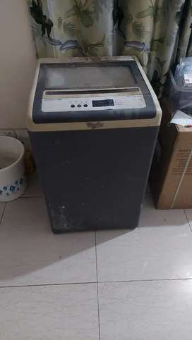 Fully automatic all functions working whirlpool 6.2 kg, fixed price