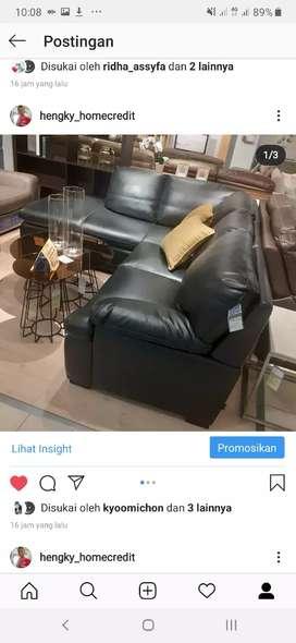 Kredit sofa corner. Informa hartono mall