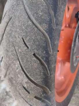 Mrf Duke back tyre