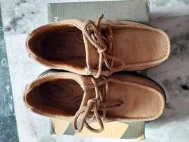 Woodland shoes camel color