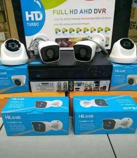 AGEN CCTV TERLENGKAP KAMERA 2MP 1080P FULL HD