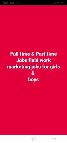 Field work marketing for girls & boys @ Calicut