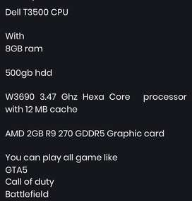 Dell T3500 Gaming PC