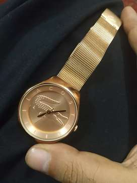 Lacoste Rose Gold Ladies Watch