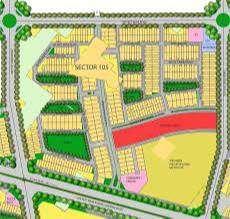 plot for sale emaar sec-105