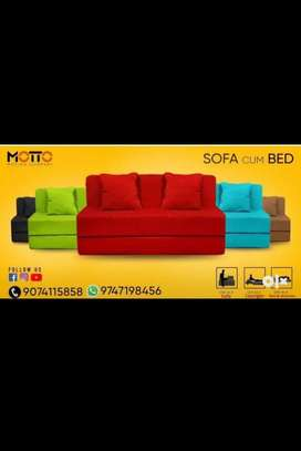Sofa cum bed ( home delivery with warenty)