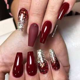 Beautician and nail artist