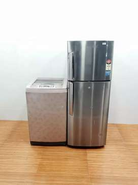 COMBO Of LG Washing Machine & LG Fridge