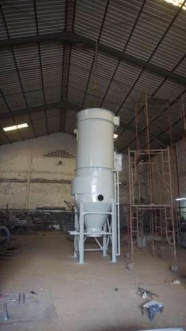 Silo Filter and Blower for woodworking Industy