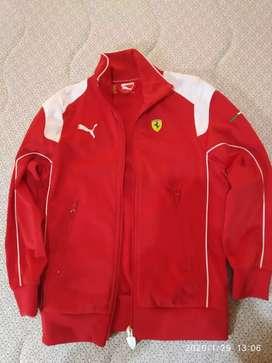 Jacket anak Ferrari original (lebar 40cm, panjang 53cm)