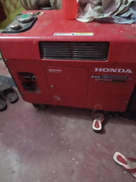 Honda generator 2kw good condition unused