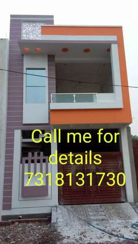 A semi-furnished house in Para at good location