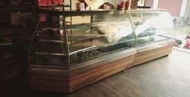 Sweet and bakery fridge