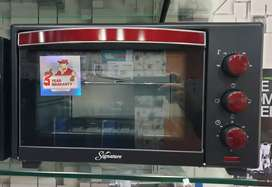 Signature Baking toaster oven and pizza maker- Imported