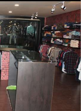 Premium Clothing Showroom For Sale