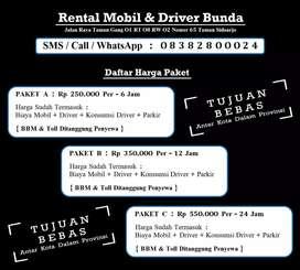 Rent Carter Car Sewa Mobil & Driver Supir Sopir Bunda