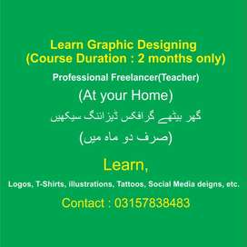 Learn Graphic Designing(At Home)