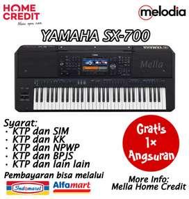 Promo Kredit Yamaha SX-700 Gratis 1× Angsuran di Melodia Musik