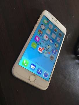 Iphone 6 128gb PTA approved A1 confition no fault silver colour