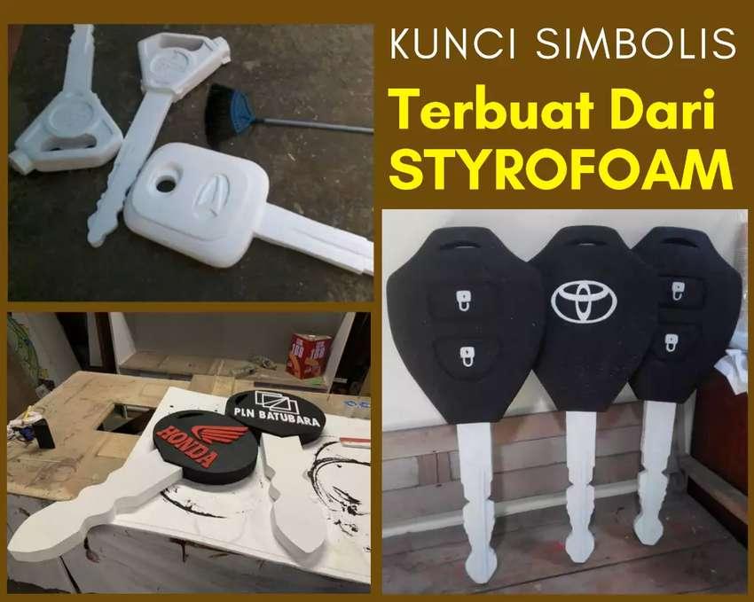 kunci simbolis dari styrofoam